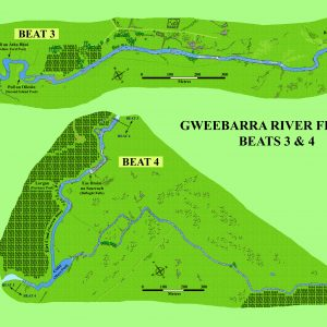 Gweebarra Beats 3 & 4 map
