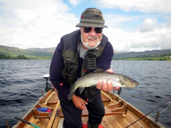 A good sea trout for Arthur Greenwood