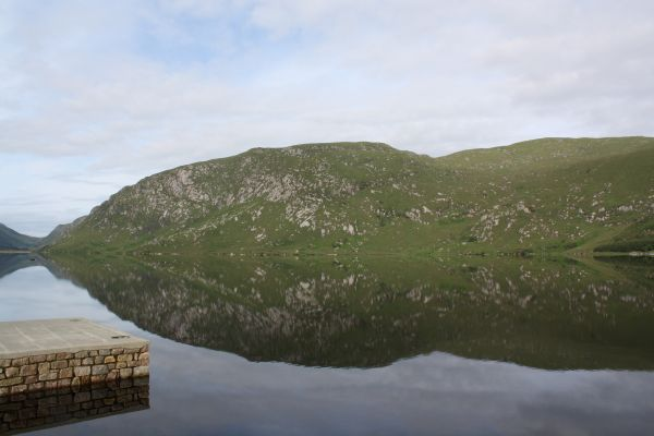 Lough Beagh. Too Calm to Fish Today!