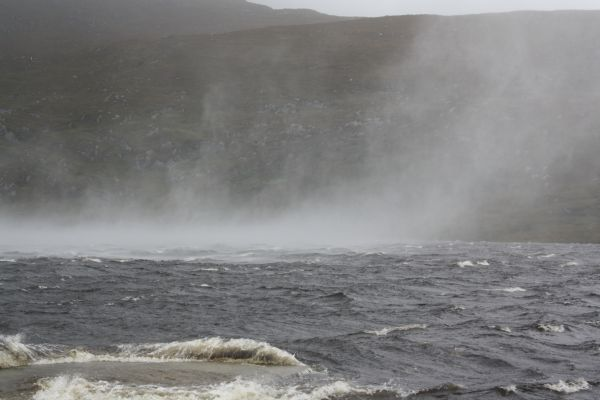 Lough Beagh. Too Rough to Fish Today!