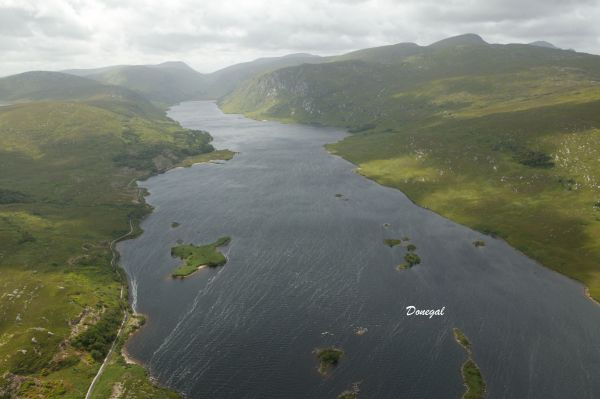 Sea Trout, Salmon & Brown Trout Fishery at Lough Beagh in Glenveagh National Park